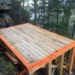 Engineered timber pad - Yamanuska
