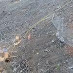Temporary Rockfall Mitigation